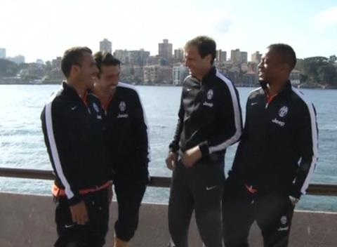 News video: Juventus Arrive in Australia as Pre Season Tour Continues
